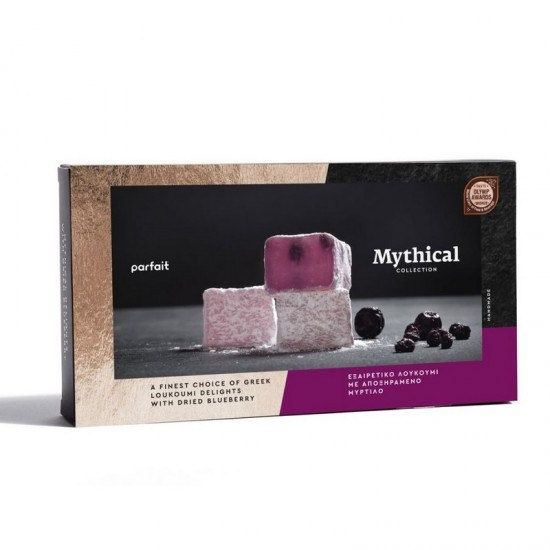 Parfait Mythical Collection Greek Loukoumi with Dried Blueberry (200g)