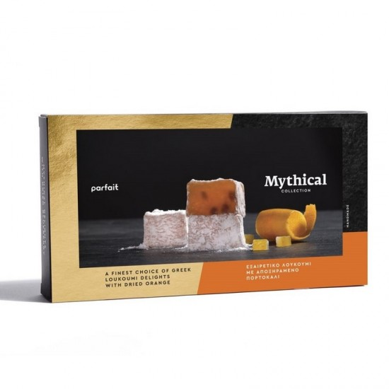 Parfait Mythical Collection Greek Loukoumi with Dried Orange (200g)